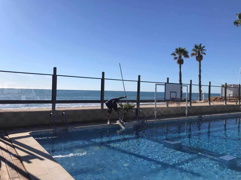 piscina playa CAMPING DIDOTA
